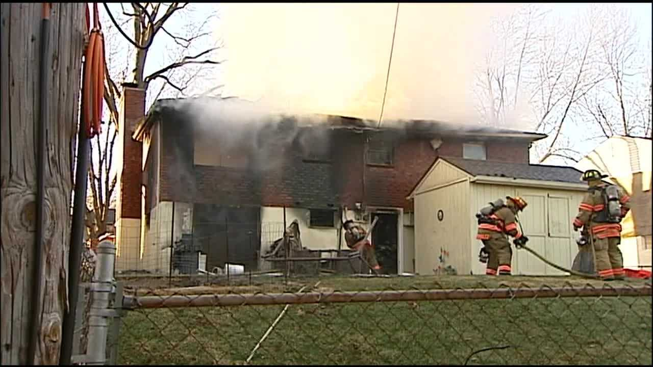 The explosion and fire that rocked an Independence home early Wednesday also rattled other homes in the neighborhood.