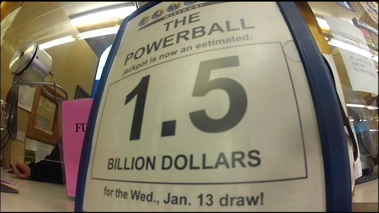 Powerball players have been waiting for Wednesday's drawing, where a record $1.5 billion jackpot is up for grabs.