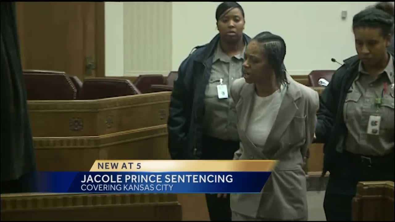 Jacole Prince loses it in court and was out of control when she is sentenced to 34 years in court.