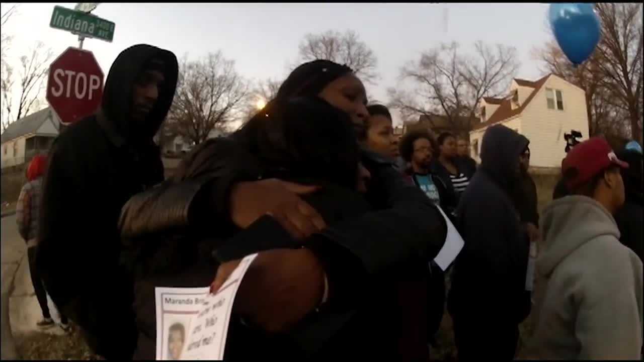 A Kansas City group remembered two people killed nearly a week ago in a double shooting.