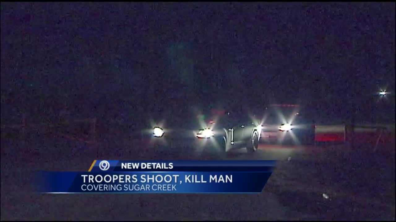The Missouri State Highway Patrol is investigating a trooper-involved shooting in Sugar Creek overnight that left a man dead.