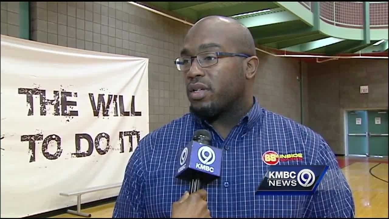 Hall of Fame lineman Will Shields hosted a soccer clinic in Overland Park Monday to help victims of domestic violence.