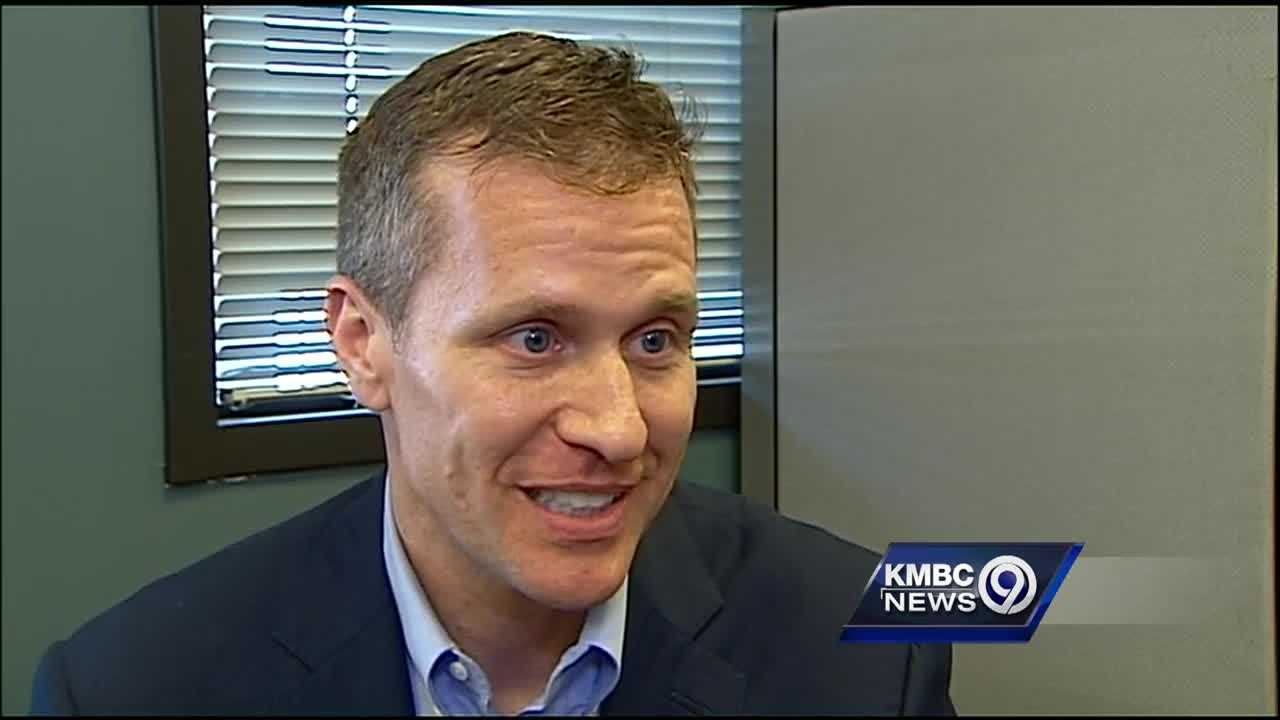 A Republican candidate for Missouri governor thinks a rival campaign may be behind a new attack video, one he said makes false charges against him.