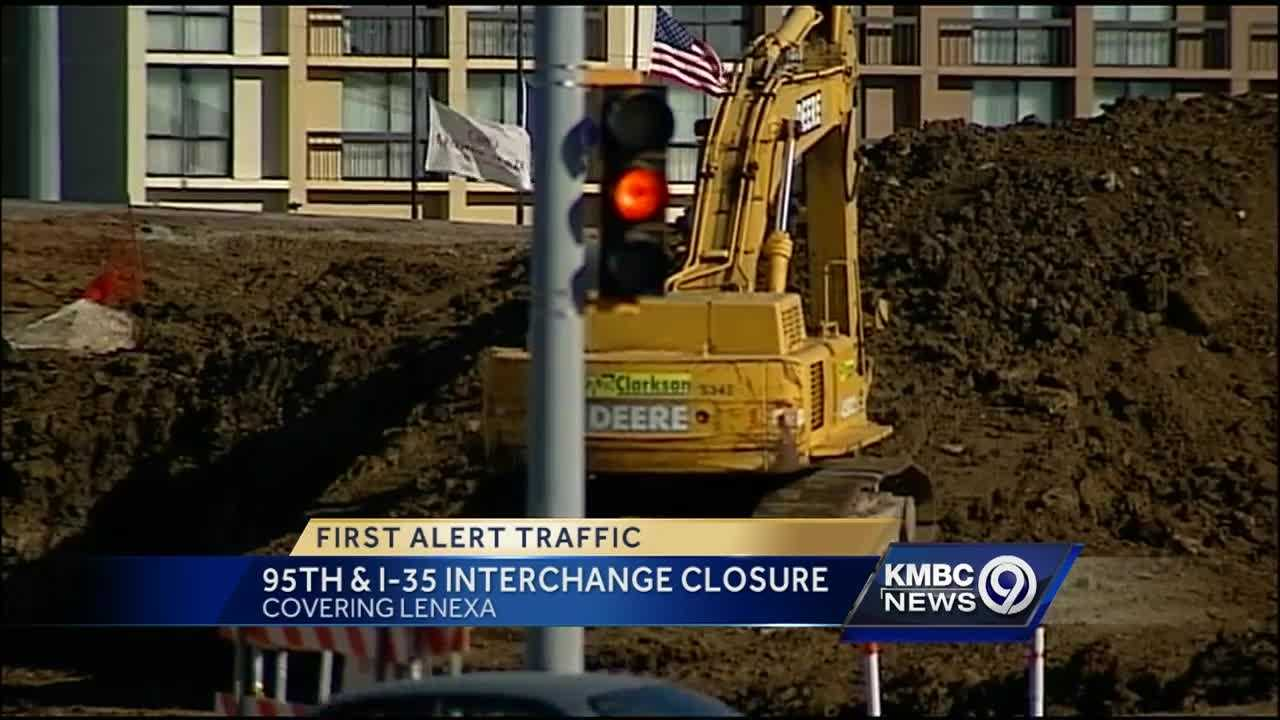 A major Lenexa intersection is about get some major changes starting Sunday evening.