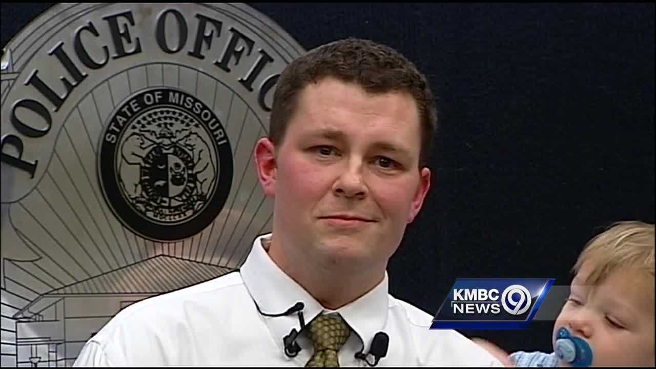 Lee's Summit police Detective Josh Ward hasn't returned to work since contracting a rare flesh-eating bacteria last year, but he's adamant about being back on the job someday.