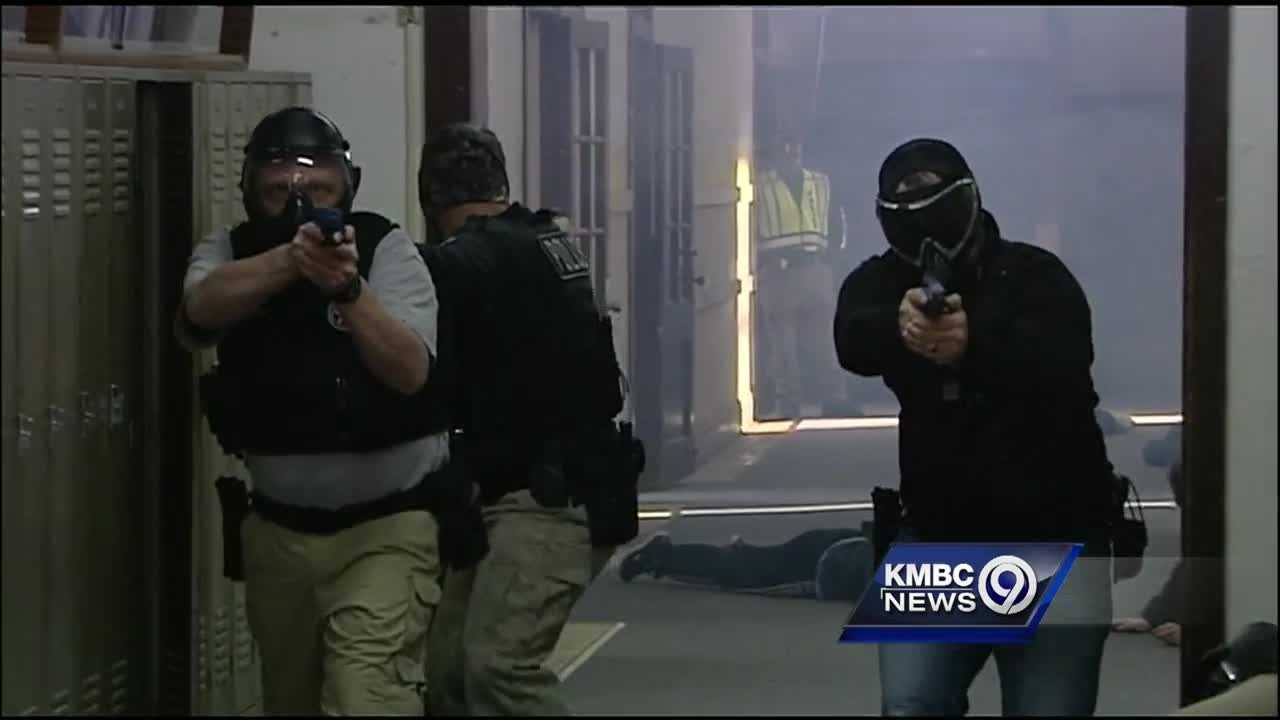 Emergency responders from across eastern Jackson and western Lafayette counties are teaming up to learn new techniques to respond to active shooter situations.