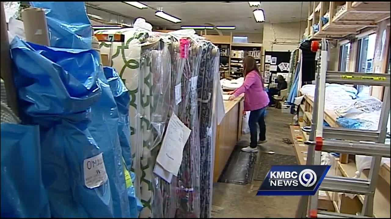 A Kansas City area business with a focus on helping single mothers is teaching them to sew.