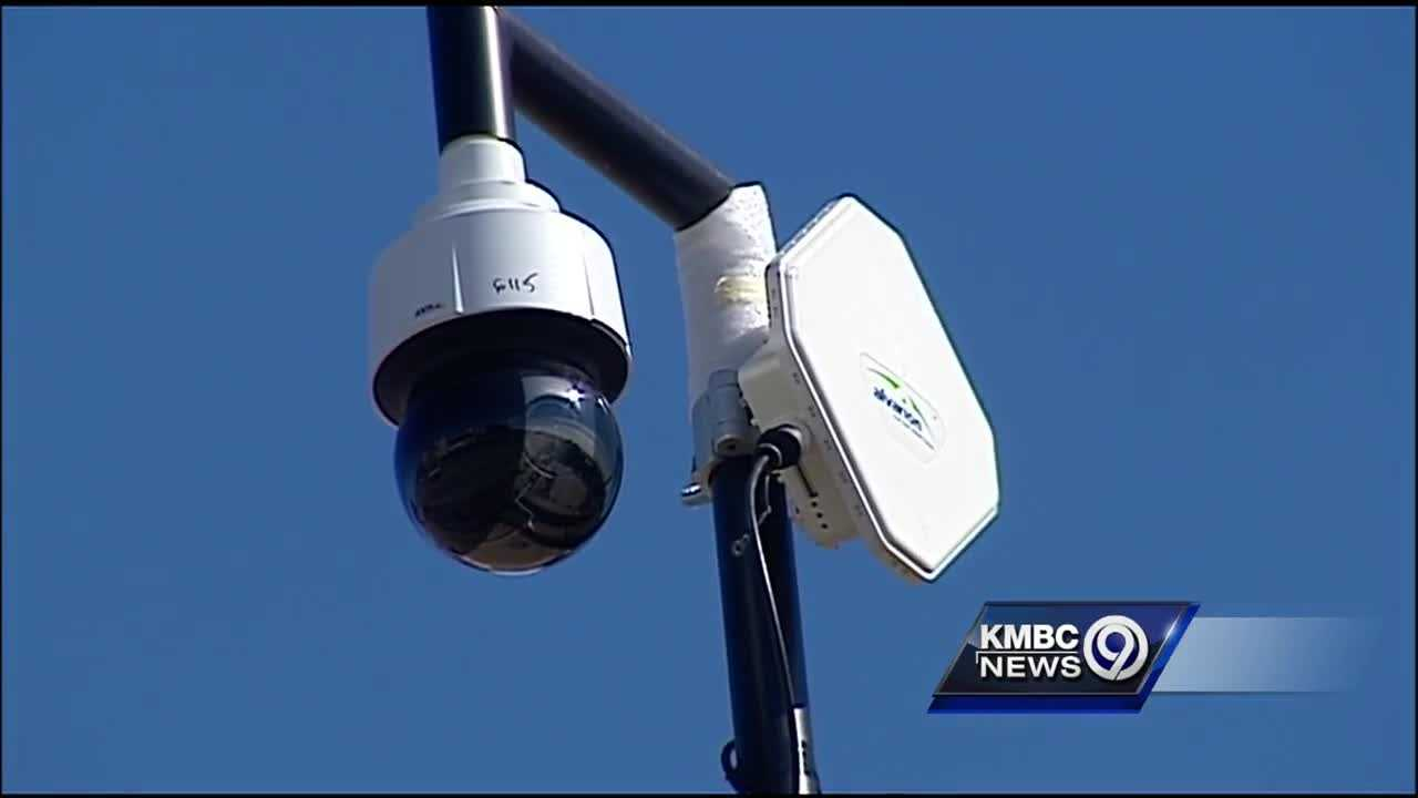 Kansas City police prepared for a crowd of about 200,000 people at Thursday's St. Patricks' Day parade, using a network of cameras to help maintain order.