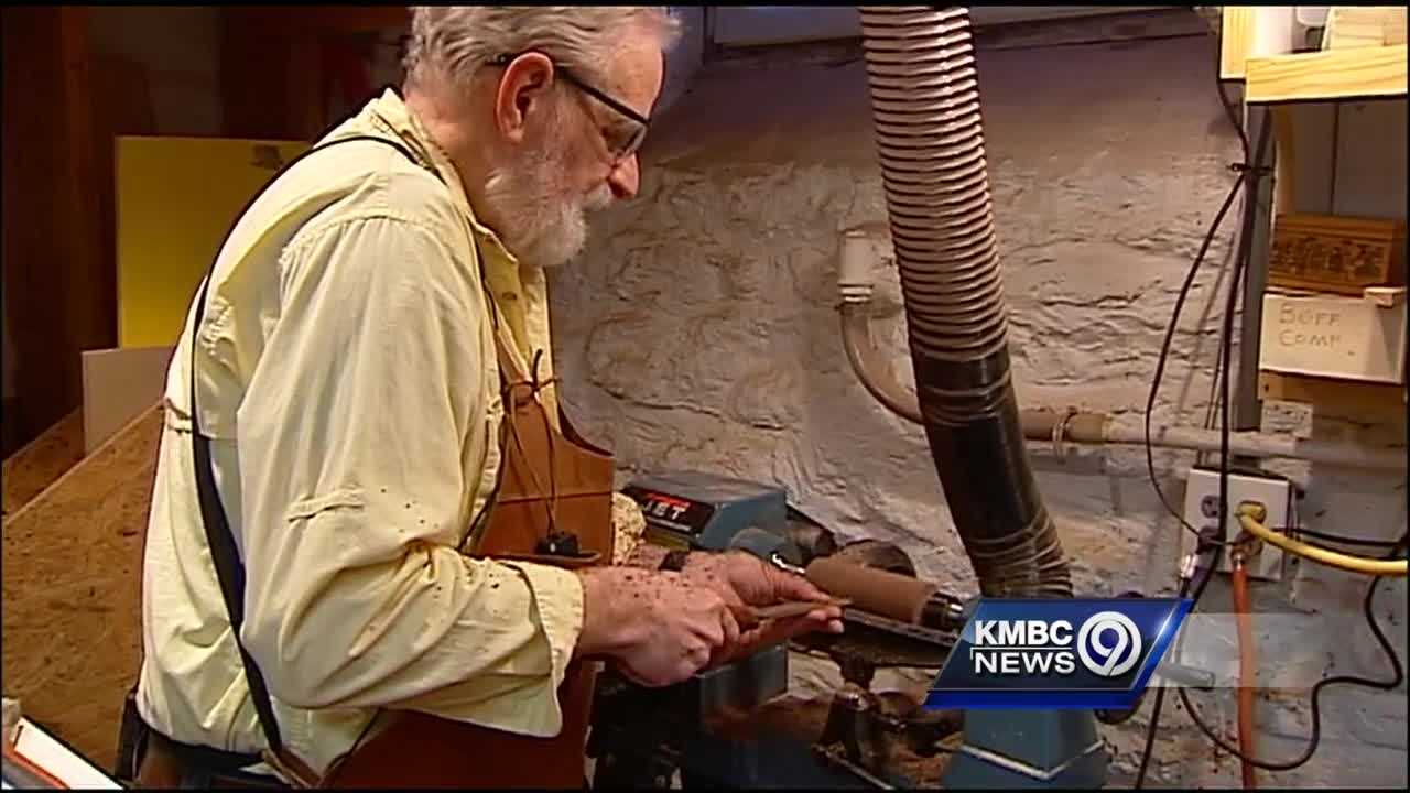 David Albright traveled the world in his career for Hallmark, but his world in retirement has been much smaller. After losing his sight, he's regaining focus in his woodshop.