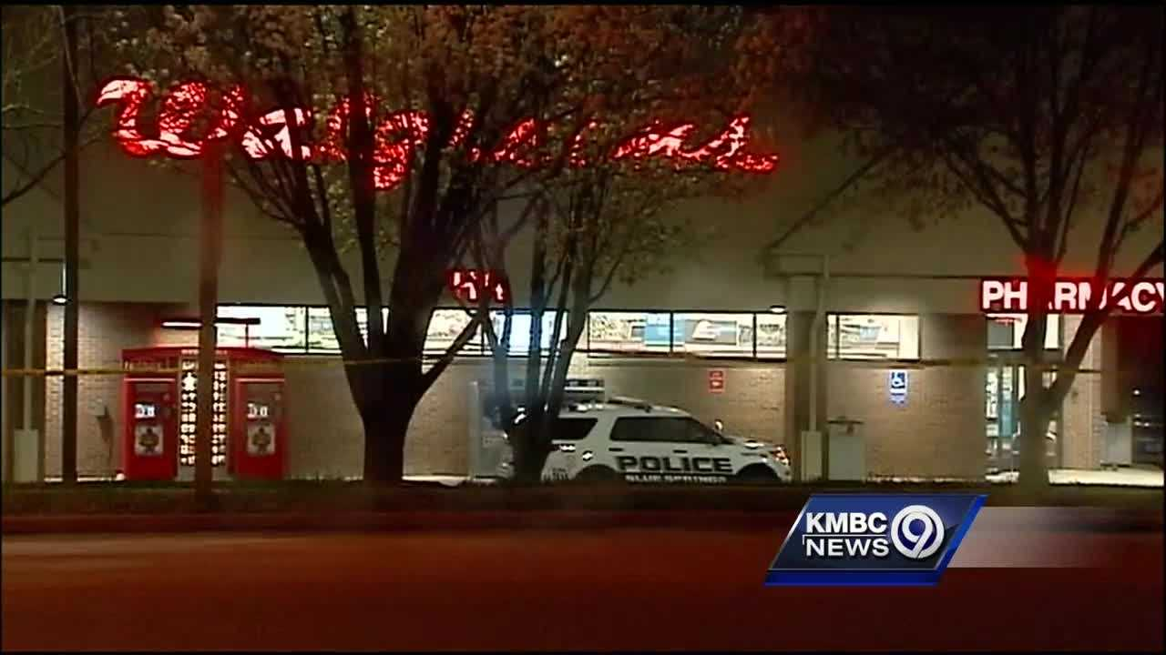 One man was killed in an armed robbery and shootout with police in Blue Springs early Thursday.