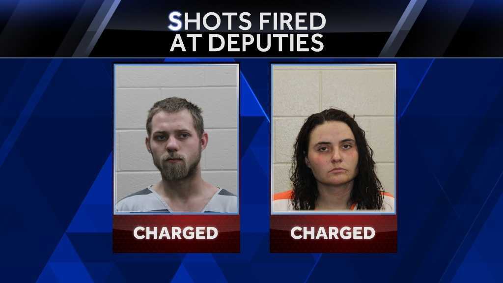 Charges have been filed against two St. Joseph, Missouri, residents after shots were fired at an Andrew County deputy.