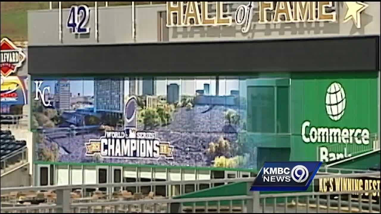 Fans who head to Kauffman Stadium to see the Kansas City Royals defend their World Series championship will notice some changes this year, and not all of them are inside the ballpark.