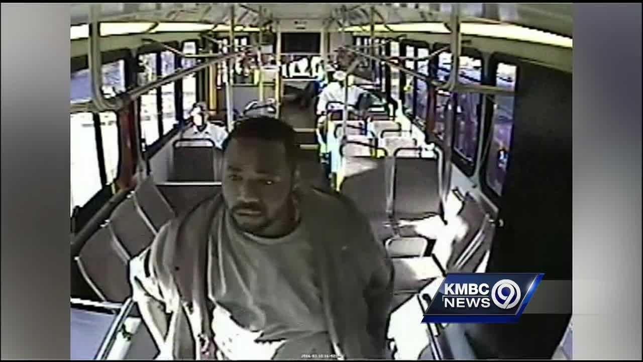Kansas City police are looking for a bus rider who is suspected of damaging an ATA supervisor's vehicle.
