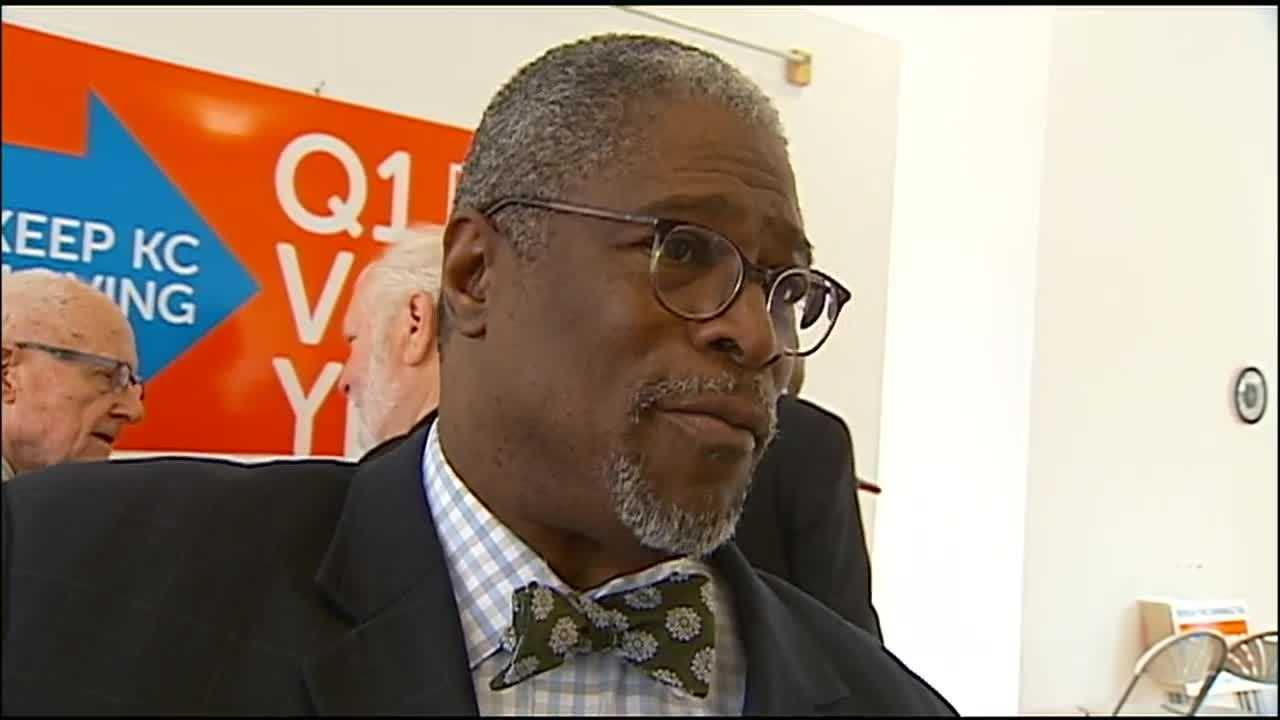 Kansas City Mayor Sly James said the city's pension funds could be in danger if voters don't approve an extension of the city's earnings tax.