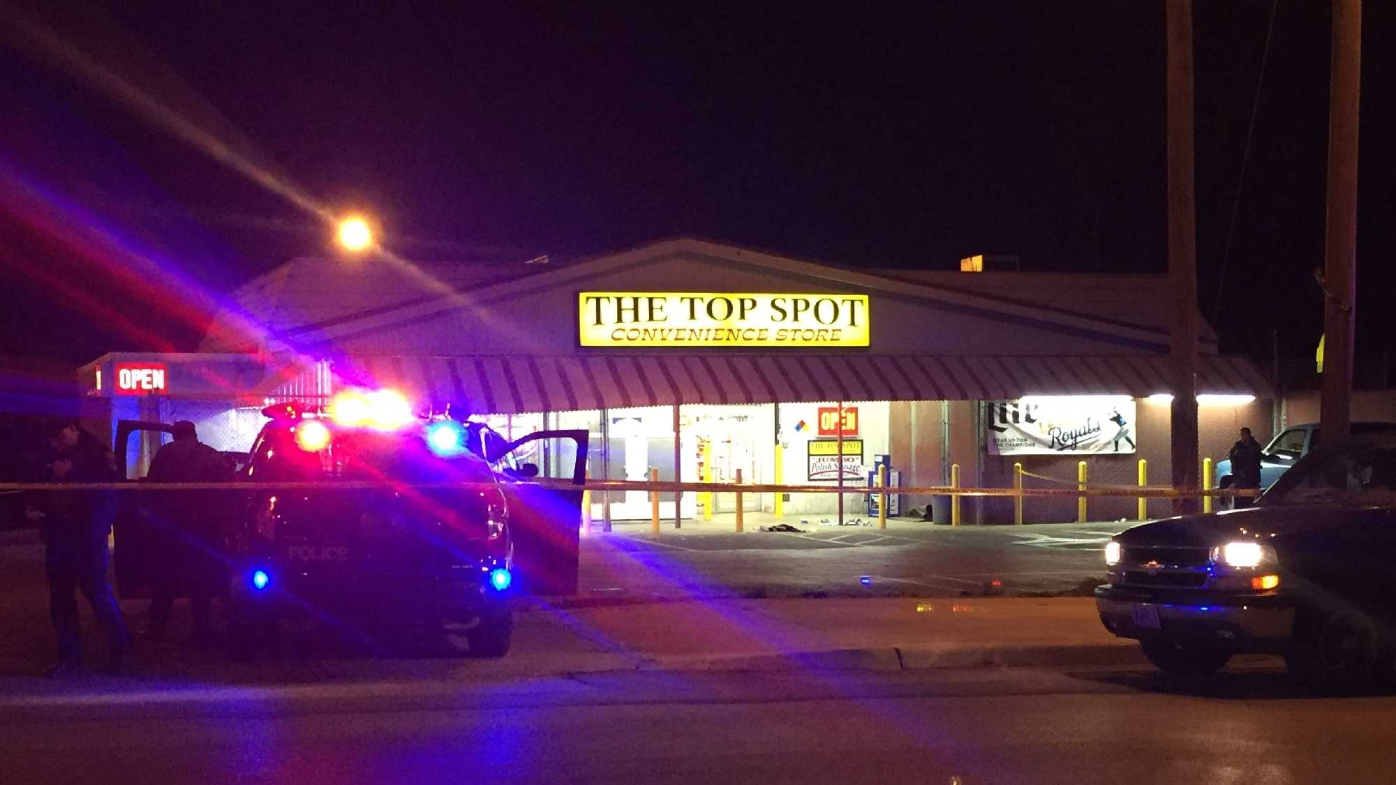 Kansas City police are investigating a shooting that happened 28th and Olive streets Friday night. The victim was found about two blocks away at Top Spot Liquor suffering from life-threatening injuries.