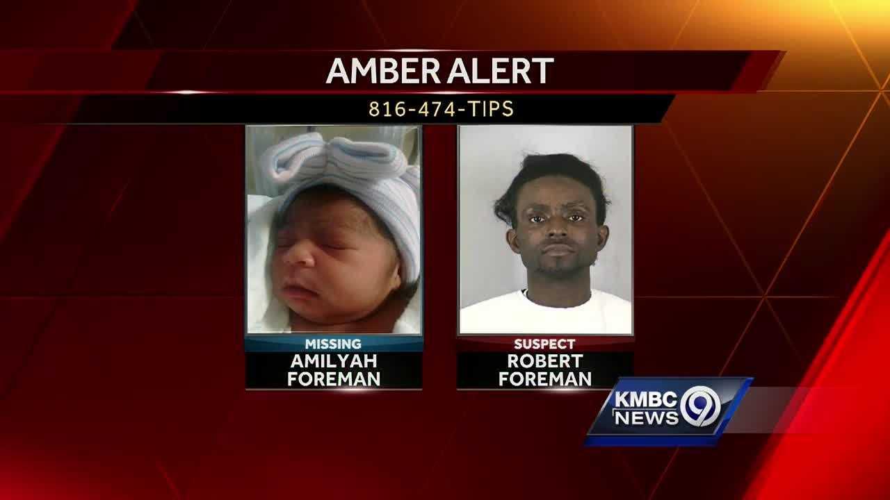 Kmbc 9 News >> Amber Alert canceled for missing KC baby