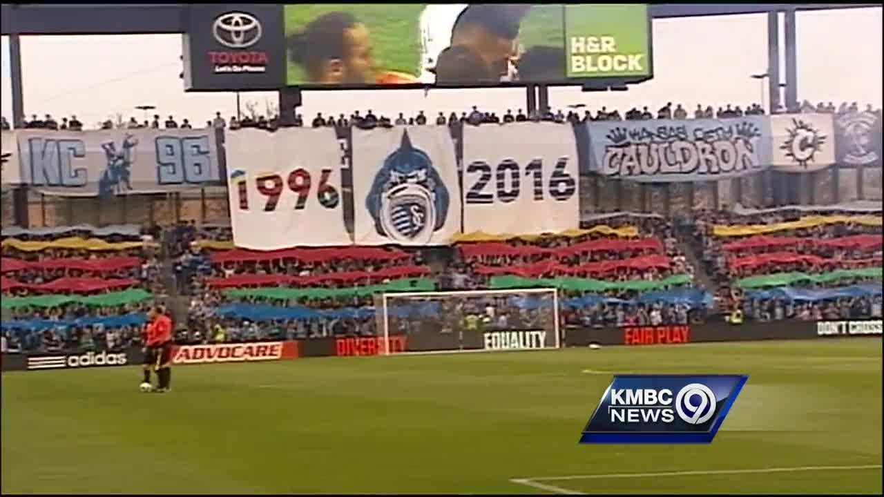 Twenty years after Lamar Hunt's dream of building an American professional soccer league brought a new team to Kansas City, that team is celebrating its legacy.