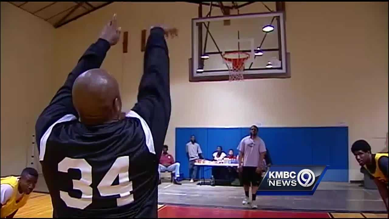 Kansas City, Kansas, police officers and a group of teenagers played a hotly contested basketball game Thursday night, an effort to bring the groups closer together off the court.
