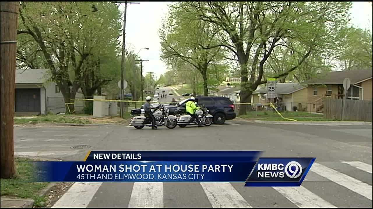 Police said a woman suffered critical injuries after being at an after-prom house party early Sunday.