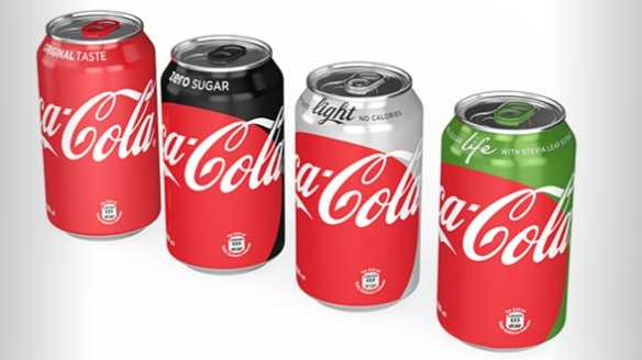Coca-Cola's new cans, unveiled by the company on April 19.