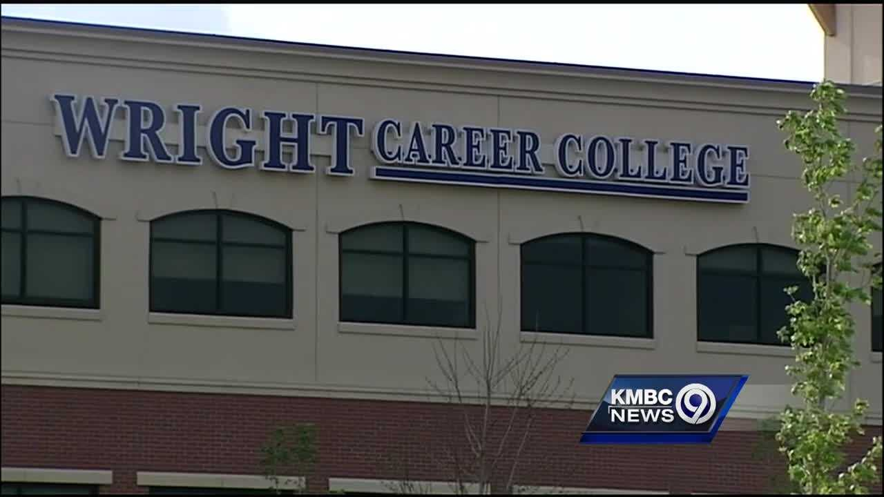 Wright Career College students said the school's sudden shutdown last week left them with thousands of dollars in debt, no diplomas and no way to even get their transcripts.