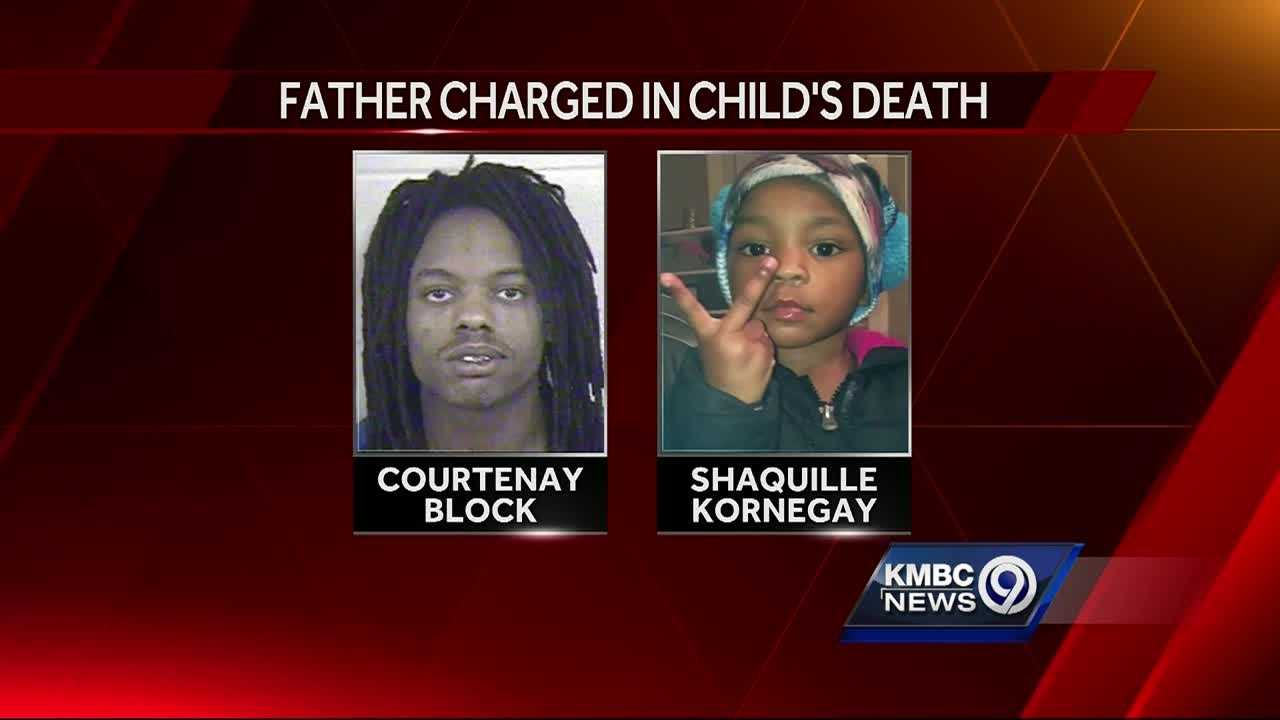 Family members are shocked after the father of a 2-year-old girl is charged in connection with her shooting death.