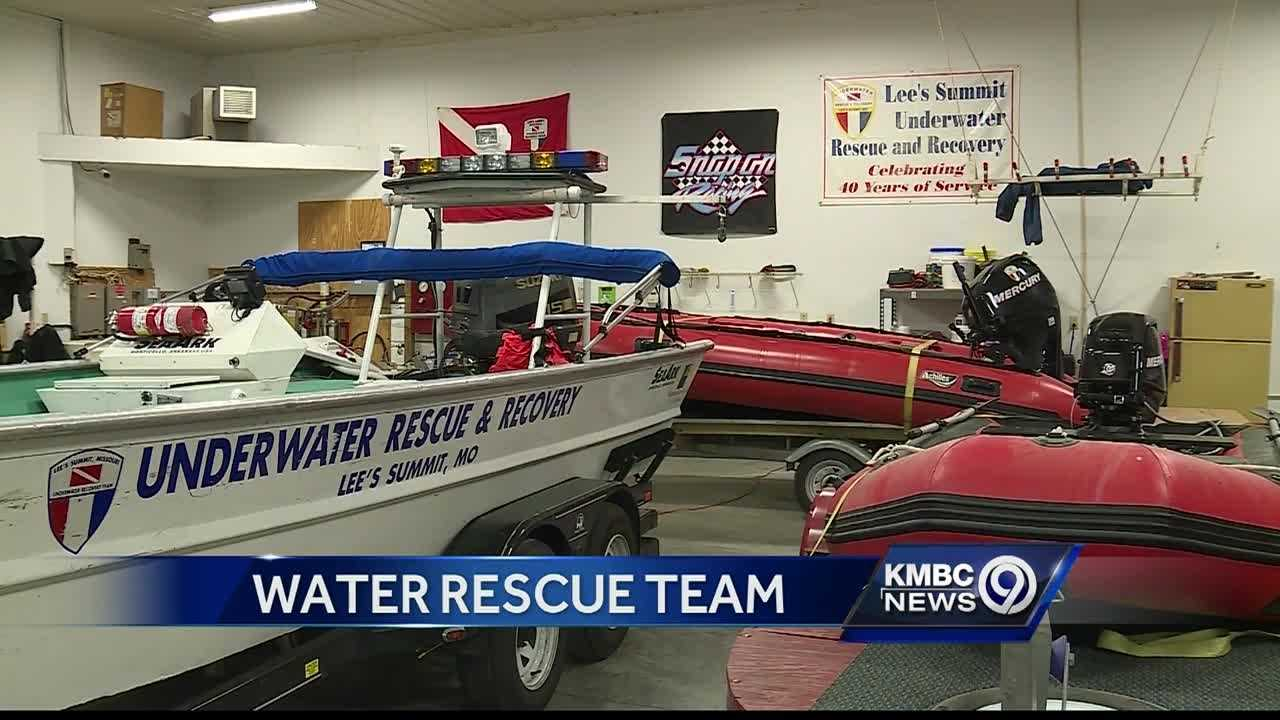 With heavy rain and flash flooding possible overnight, members of the Lee's Summit Underwater Rescue and Recovery team want to remind people about the dangers of high water.