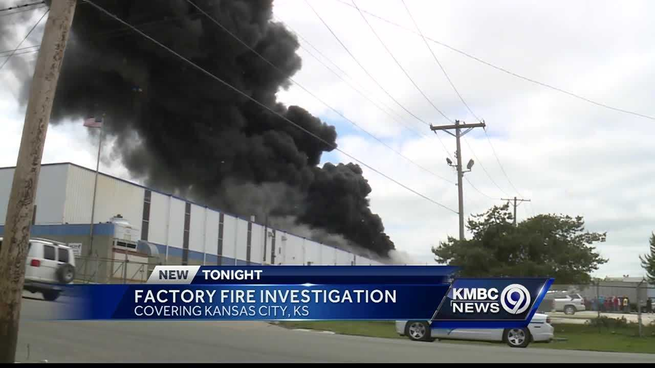 Thick smoke from a warehouse house in Kansas City, Kansas, drew attention from people all over the city -- though firefighters were able to get the flames out quickly.