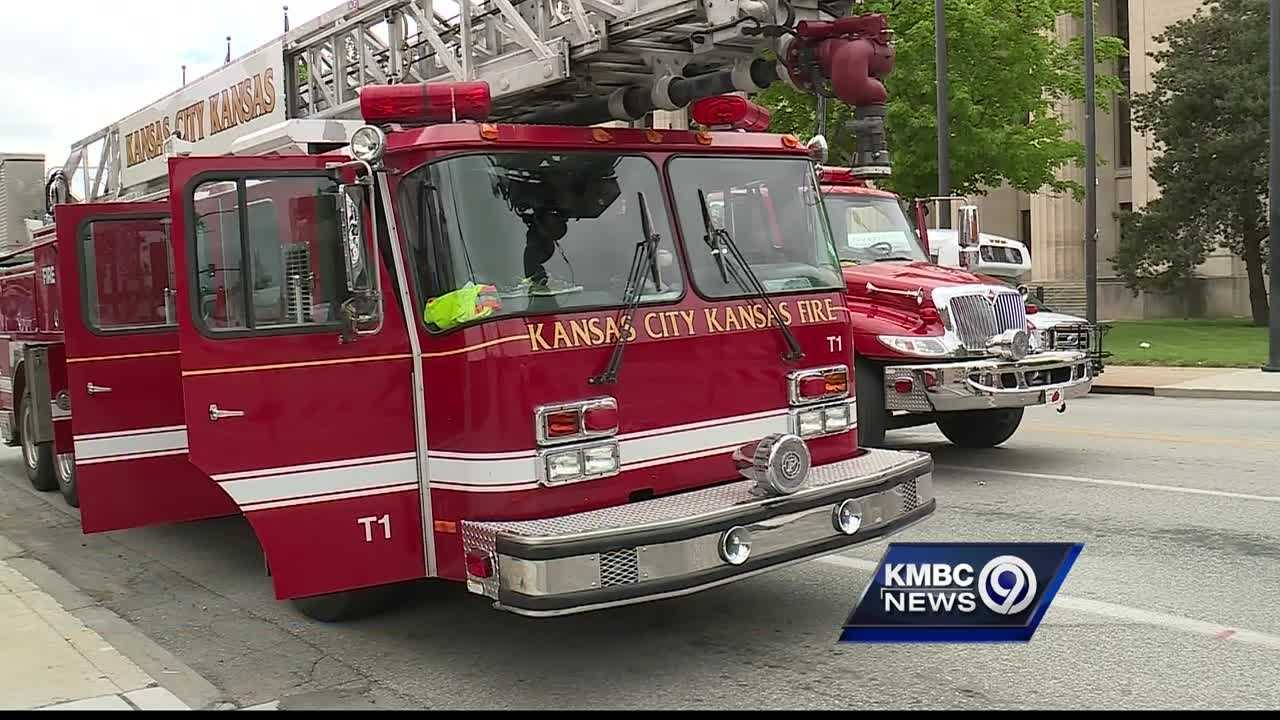 Mayor Mark Holland delivered a report Thursday that's critical of how the Kansas City, Kansas, Fire Department works.