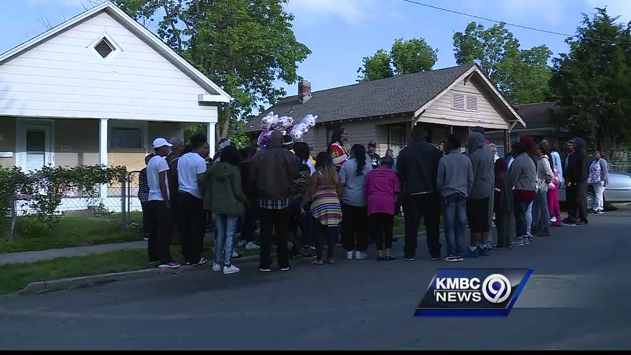 Friends and family members came together in prayer Thursday to remember a toddler who accidentally shot and killed herself with her father's gun.