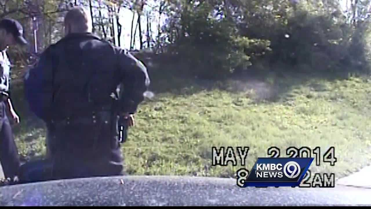 Disturbing police dashboard camera video is released showing the arrest of an armed robbery suspect and mistreatment that helped send a former police officer to jail.