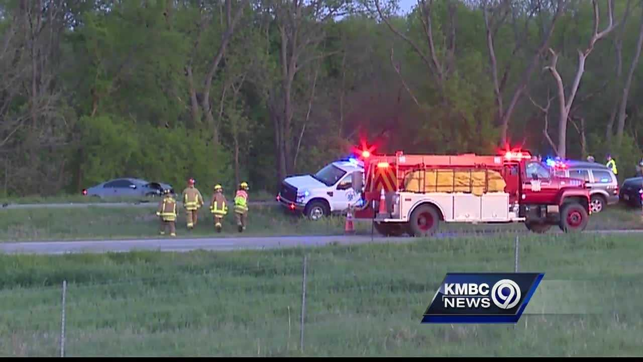 A witness to Tuesday's crossover crash on Interstate 35 that killed a mother and her 9-year-old son said he understands what the grieving families are going through.