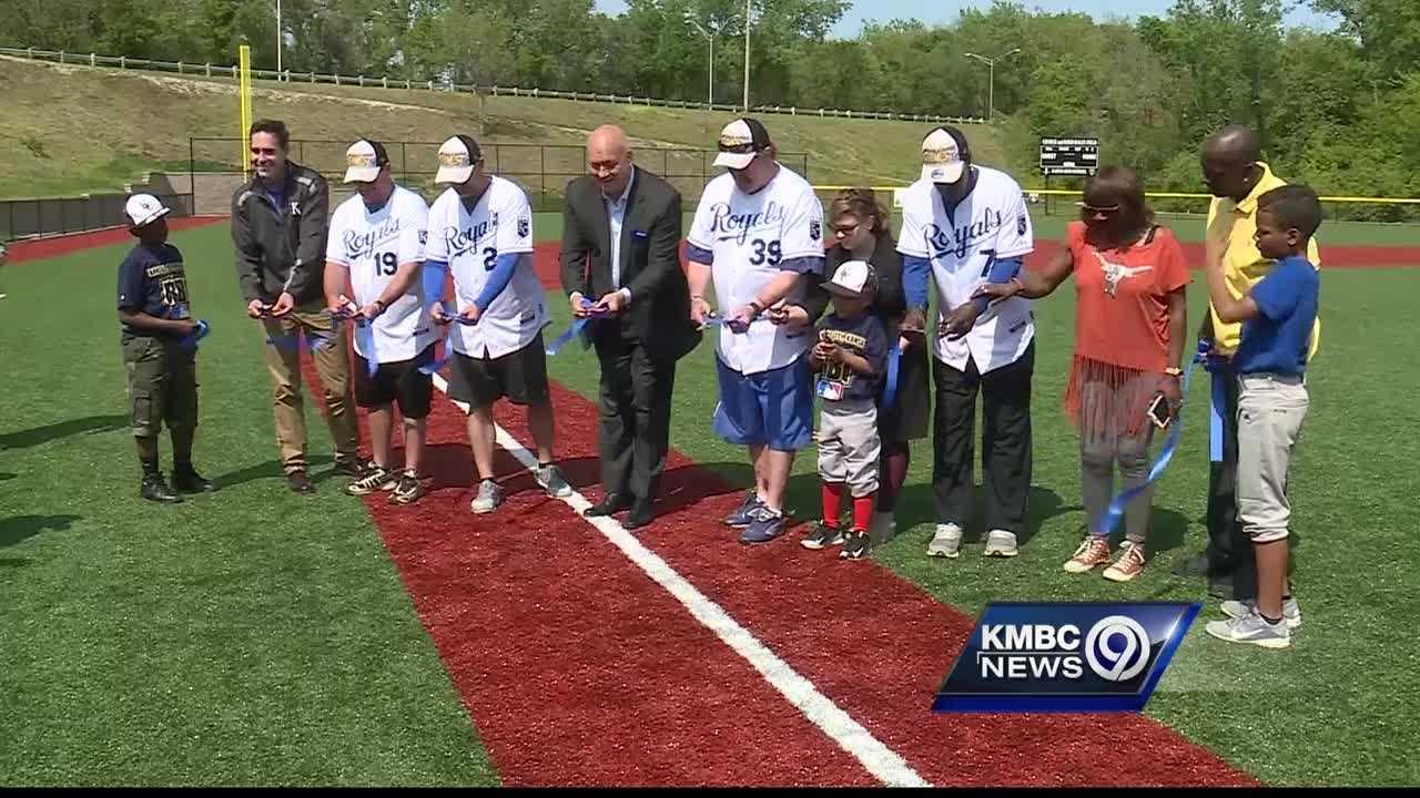Kansas City, Kansas has a new baseball field for Little League players, thanks to Hall of Famer Cal Ripken Jr. and Royals Charities.