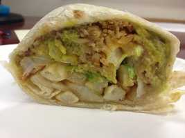 """Rob's """"last meal"""" would be the """"Justin Burrito"""" from Rico's Taco Shop in Encinitas, CA. It's a burrito that contains beans, cheese, rice, lettuce, french fries, guacamole, all double wrapped (two tortillas). It was created by Justin Kurn, a local who kept ordering """"his own"""" burrito every time he went to Rico's. Consumed with Rico's special hot sauce…Rob says it's """"to die for."""""""
