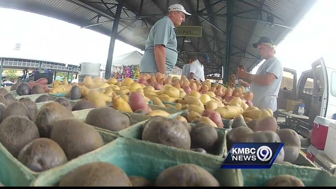 Kansas City's downtown City Market is back open during the week on Wednesday nights.