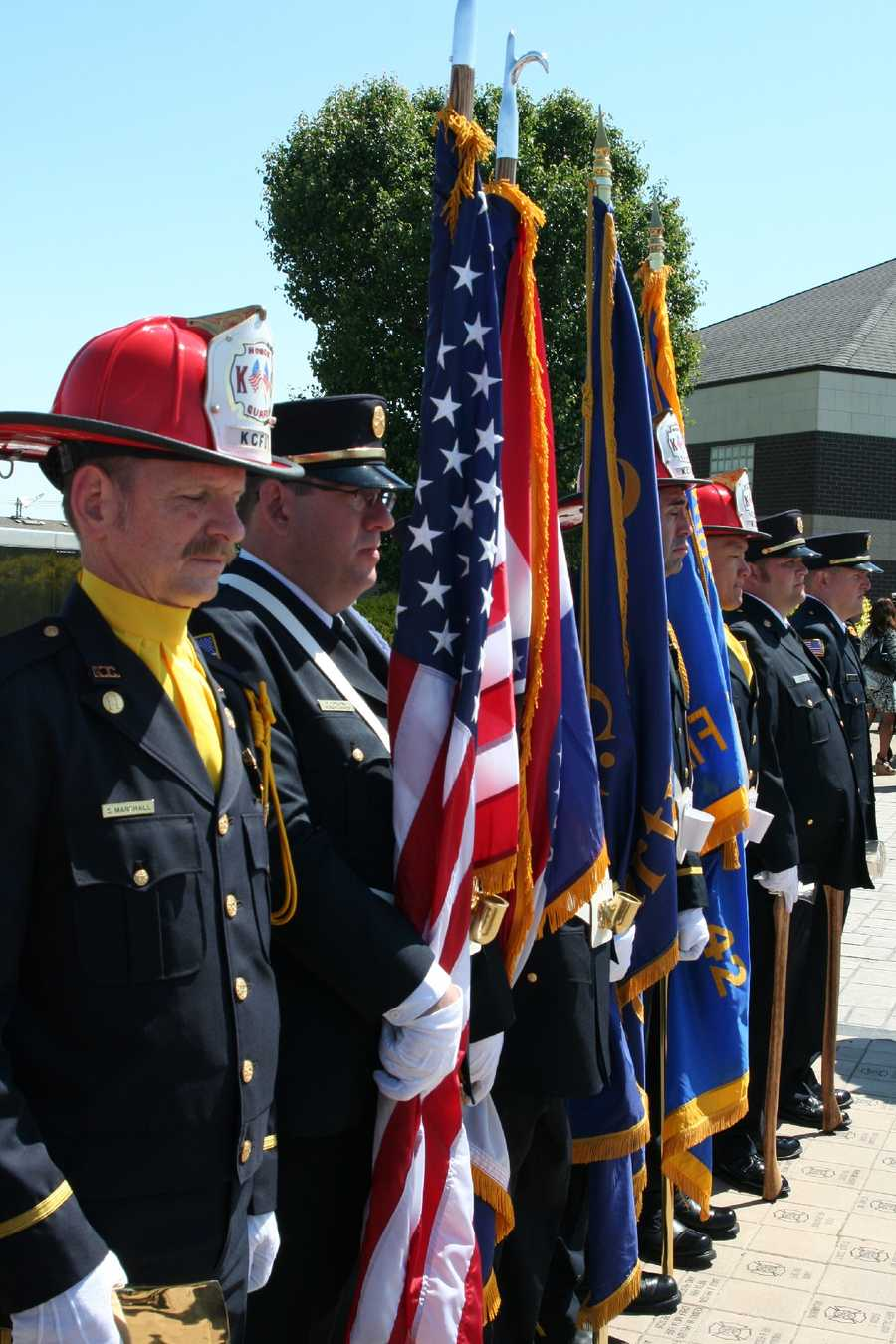 Engineer-Firefighter Larry W. Lawhorn of the Orchard Farm Fire Protection District was responding to a mutual aid structure fire when the fire department tanker he was driving left the roadway and came to rest in a field after he suffered a heart attack.