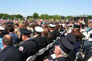 The Missouri Fire Service paid tribute Sunday to the four Missouri firefighters who died in the line of duty in 2015.