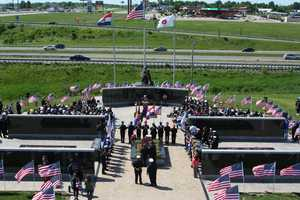 The memorial was first dedicated in 2002.