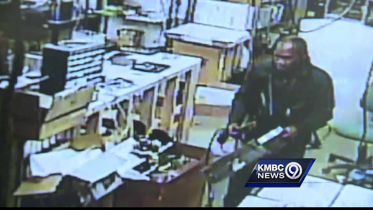 Kansas City police are asking for help in finding a man who they say broke into a Waldo computer store early Monday and stole equipment.