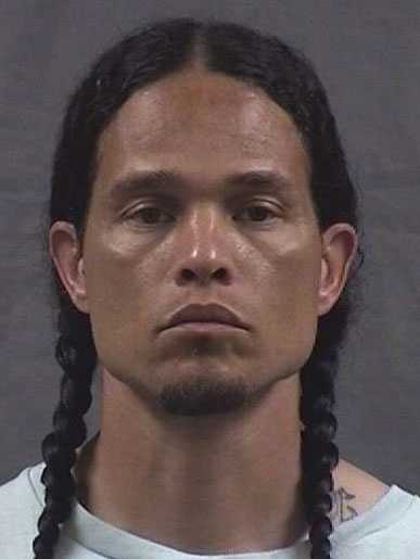 """Abyah Ky Eteeyan, 38, is wanted on a Kansas parole violation warrant on charges of second-degree murder and aggravated battery.Police said he is American Indian, 6 feet 1 inch tall, 200 pounds and has brown hair, brown eyes and tattoos on his arms, back, neck, chest and abdomen.His last known address was in Lecompton, Kansas.Police said he is known by the nickname """"Little Dog.""""Police said he should be considered dangerous."""
