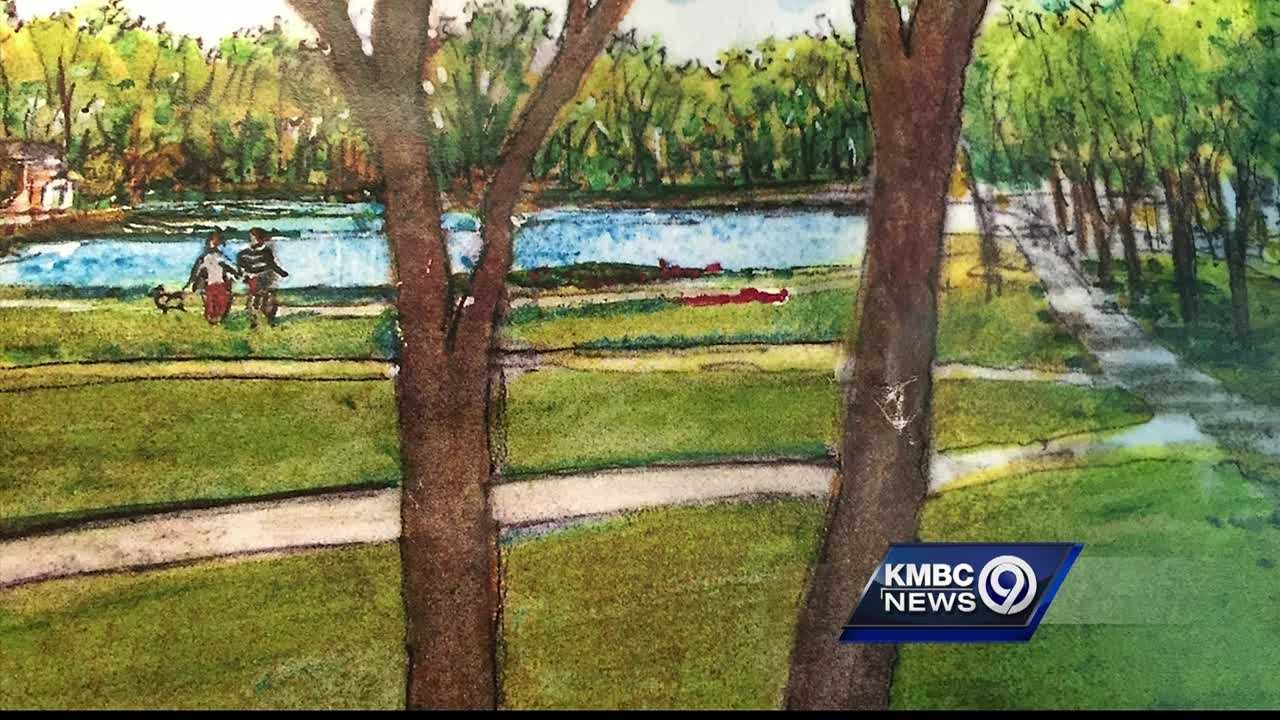 An area of northeast Johnson County is getting a new park and maybe some new neighbors.
