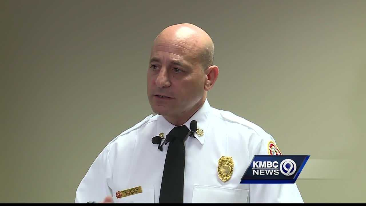 Kansas City Fire Chief Paul Berardi made his first public comments Wednesday after the release of a department report about the deaths of two firefighters last October.