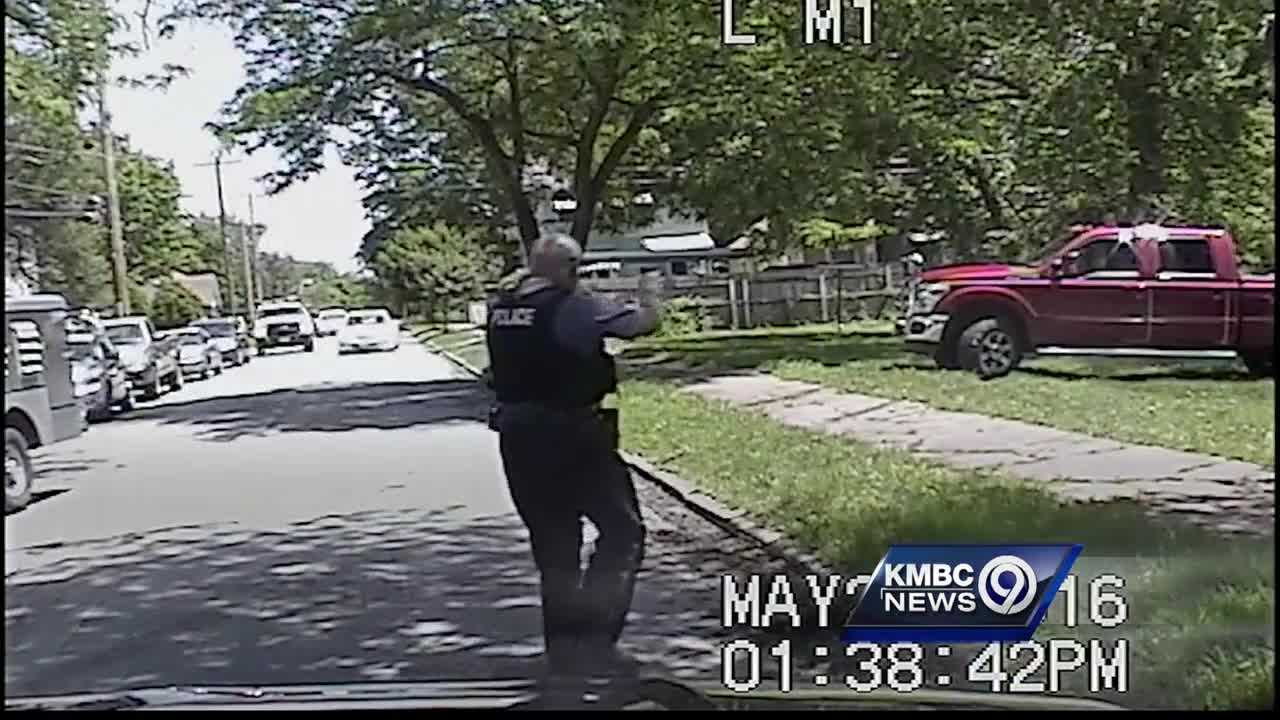 Police have released dashboard camera video of a confrontation between a Kansas City animal control officer and a man who was trying to keep the officer from taking his neglected dog.