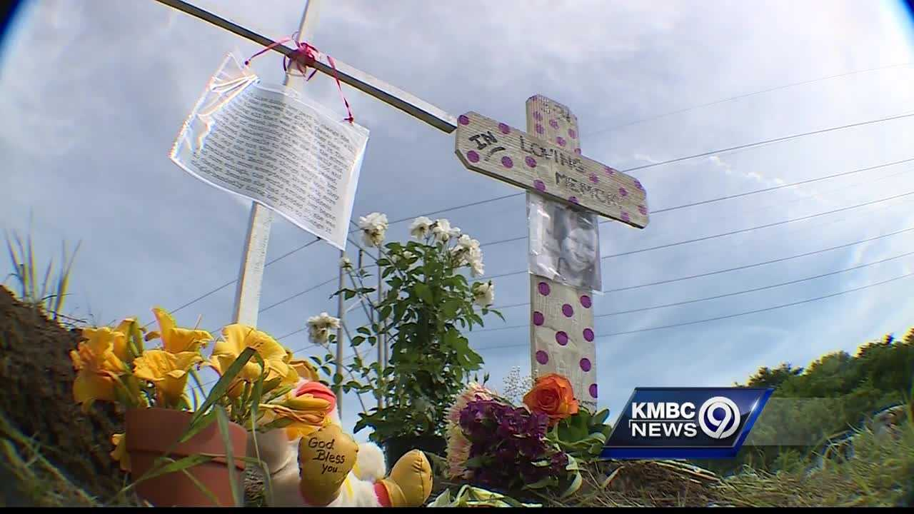 An Olathe special education teacher who died in a crash late Tuesday was remembered at a vigil near the place where she died.