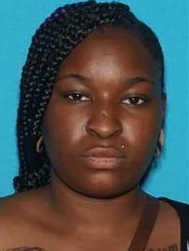 Tia Shurn, 24, is wanted in Jackson County, Missouri, on charges of abuse or neglect of a child.She is black, 5 feet 2 inches tall, 150 pounds and has black hair, brown eyes and tattoos on her arms, legs and chest.Her last known address was in the area of 76th & Monroe in Kansas City, Missouri.