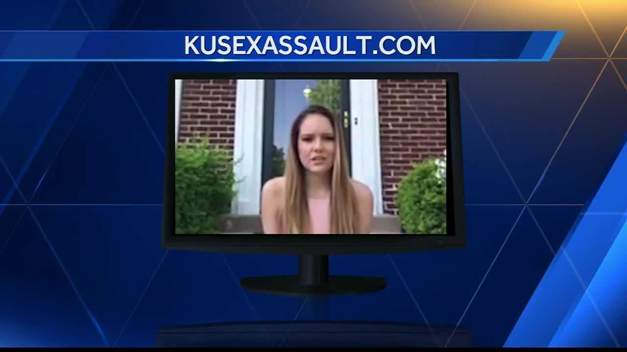 A woman who has filed a lawsuit against the University of Kansas over the way it handled her sexual assault allegations said she wants to join a class-action lawsuit against the school.