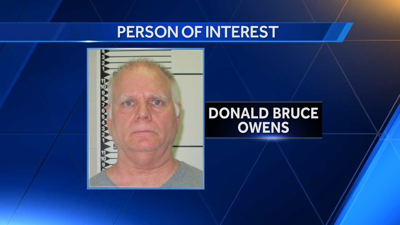 Law enforcement agencies investigating the homicides in the Slater area of Saline County are now looking for Donald Bruce Owens, who has been named as a person of interest in the case.
