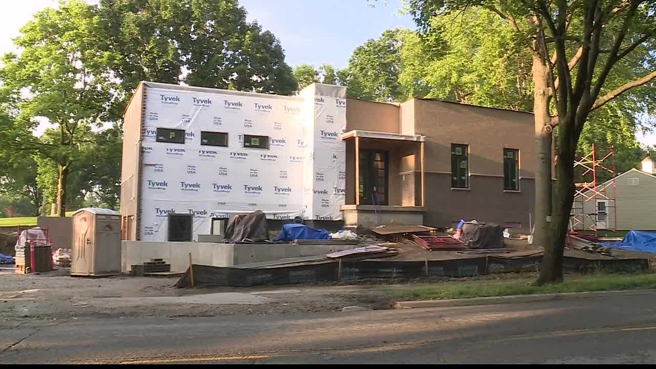 Homeowners in Prairie Village said they're not happy about new homes being built in their neighborhoods.