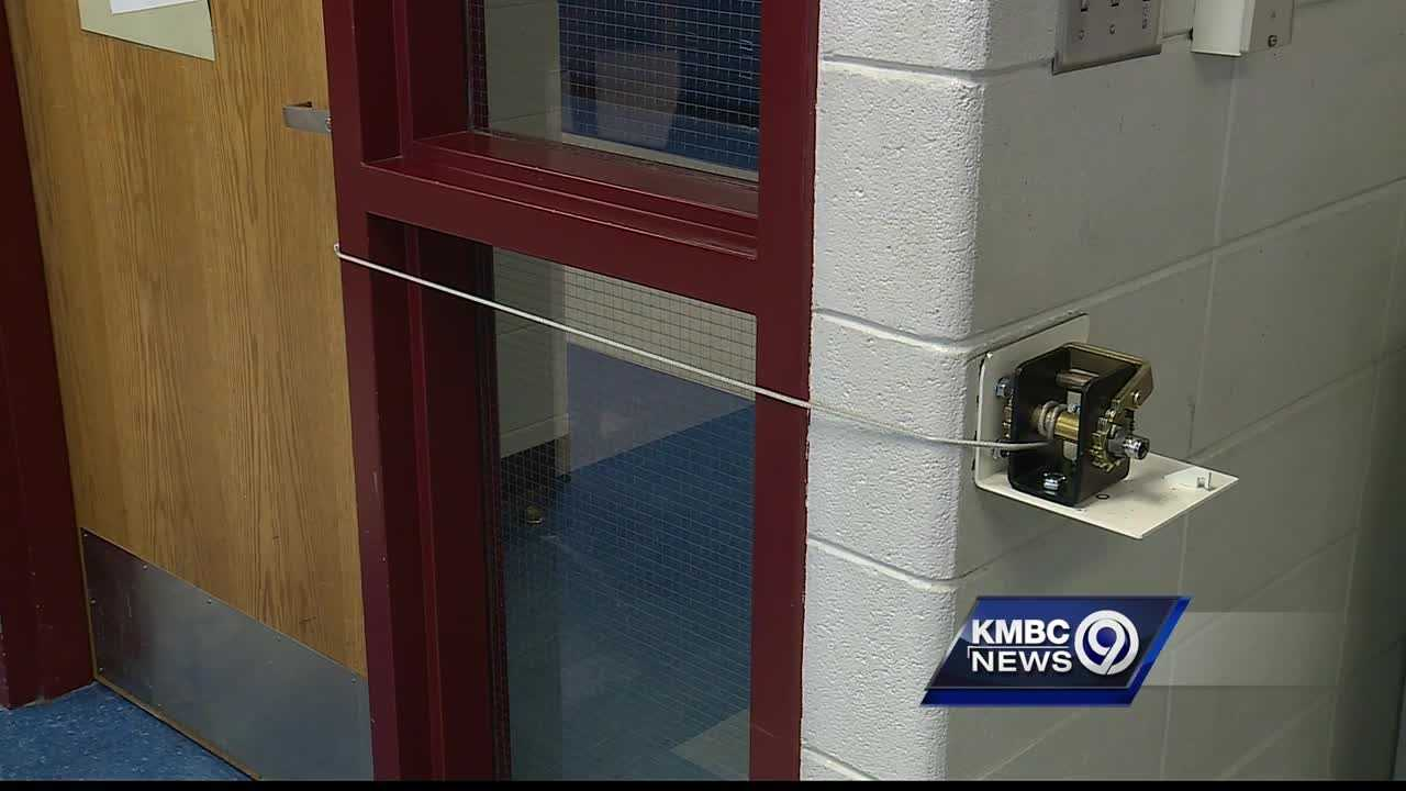 The Harrisonville School District is spending the summer break installing new security devices designed to keep kids safe in the classroom.