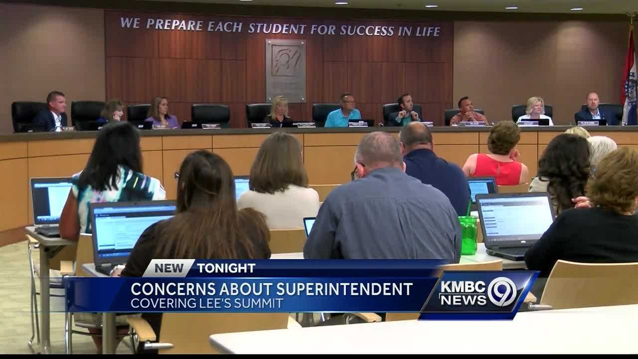 Patrons in the Lee's Summit School District waiting for word about the future of embattled superintendent David McGehee didn't get any new information at Thursday night's board meeting.